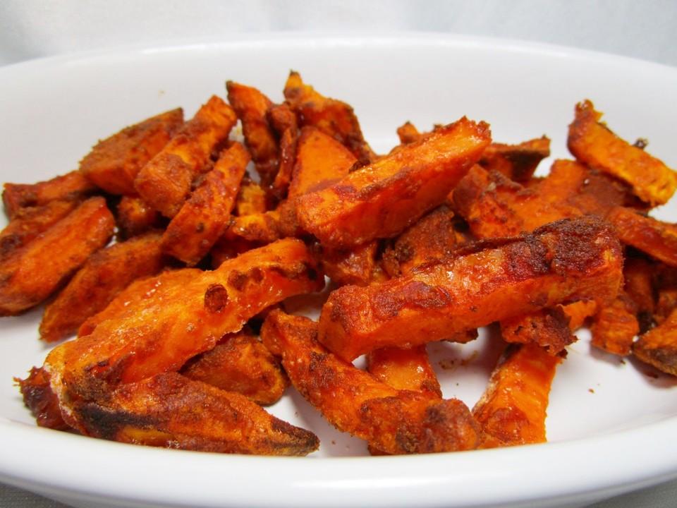 Gebackene Süßkartoffel Pommes Frites Von Vrame Chefkochde
