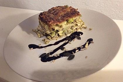 Brokkoli-Zucchini-Lasagne
