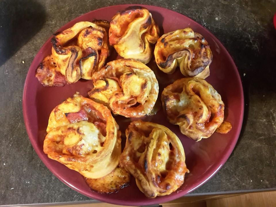 Pizzaschnecken Aus Dem Dutch Oven Zum Kindergeburtstag Von Pit Blog
