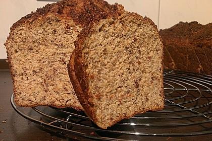 Saftiges Low Carb Brot
