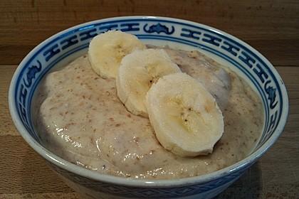 Bananen-Braunhirse-Creme 2