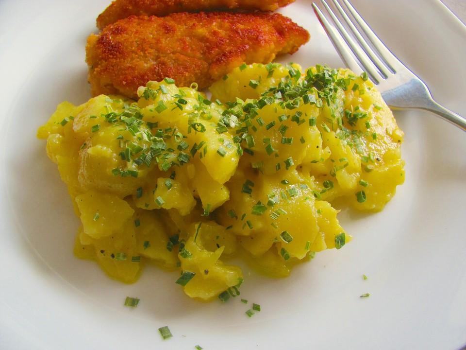 Schwabischer Kartoffelsalat Mit Fleischbruhe Von Onza Chefkoch