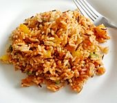 Reis-Paprika-Pfanne (Bild)