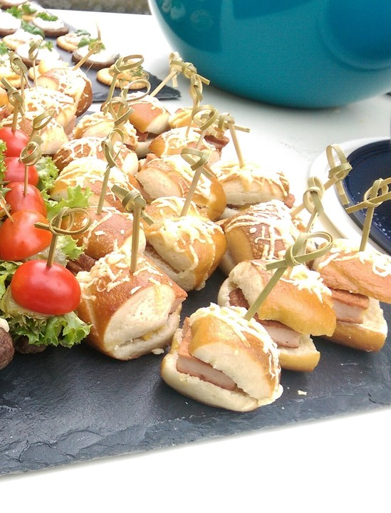 Bayern Burger Als Fingerfood Von Ohcinderella Chefkoch