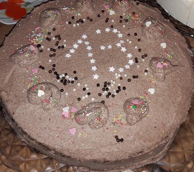 Schneller Schoko Buttercreme Kuchen Von Tatjana868 Chefkoch De