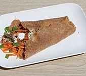 Frühlingszwiebel-Karotten-Wrap (Bild)