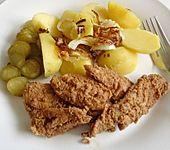 Brathering mit Kümmelkartoffeln und Röstzwiebeln (Bild)