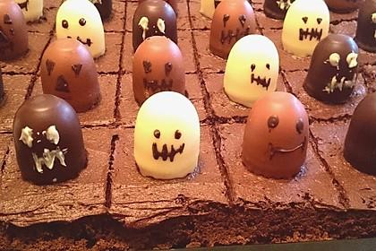 Spooky Brownies zu Halloween