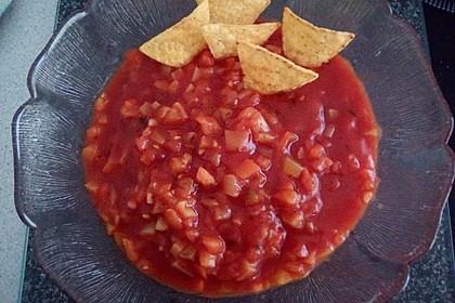 Salsa-Dip für Tortilla