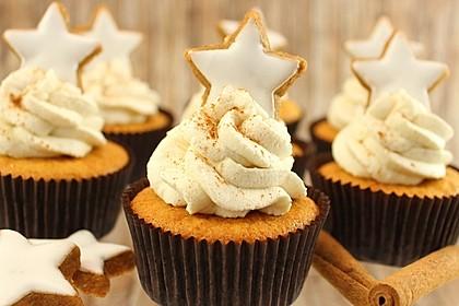 Zimtstern-Cupcakes 2