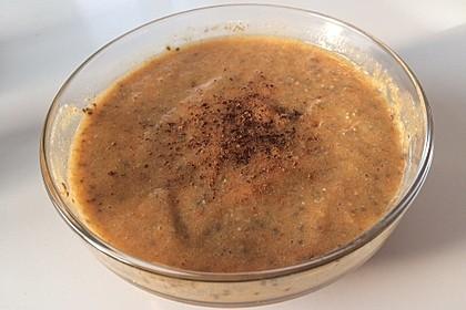 Tropischer Pudding mit Chia und Braunhirse