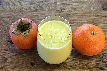 Kaki-Orangen-Smoothie 1