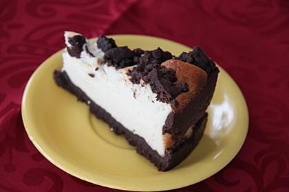 Quarktorte mit Schokolade (Bild)