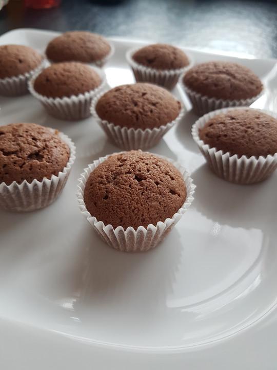 Rezept mini muffins schoko