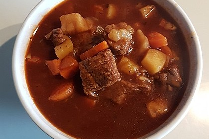 Irish Stew aus Beef and Guinness 1