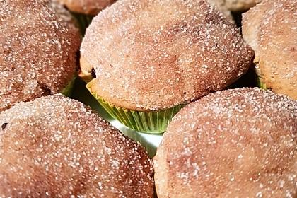Nutella-Zimt-Muffins (Bild)