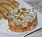 Orangen-Apfel-Crumble mit Mandeln (Bild)