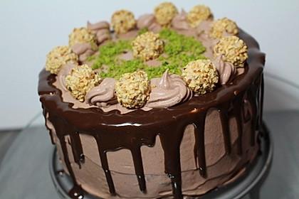 Schokoladige Butterkekstorte