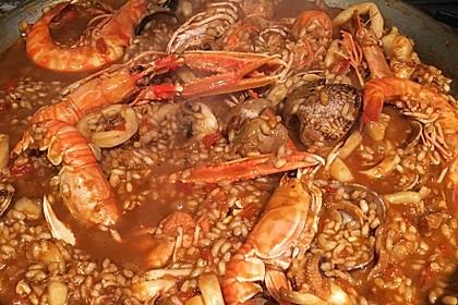 Meeresfrüchte-Paella 1