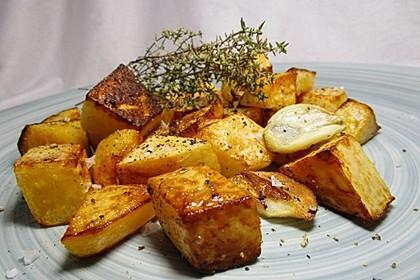 Bratkartoffeln von der Steckrübe