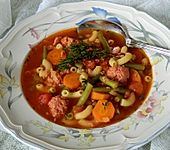 Grüne Bohnen-Tomaten-Eintopf (Bild)