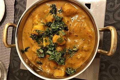 Indisches Chicken-Mango-Curry 1