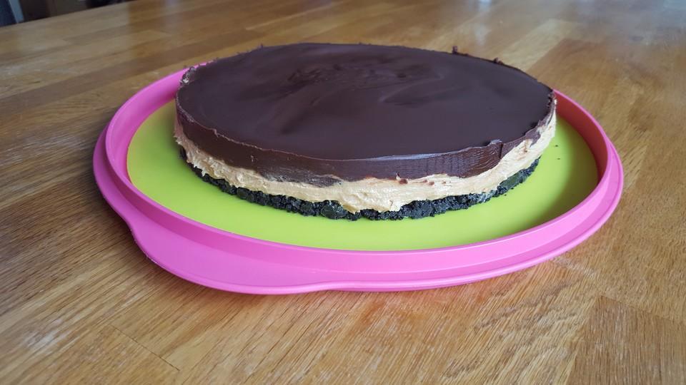 Oreo Erdnussbutter Torte Von Esslust Chefkoch De