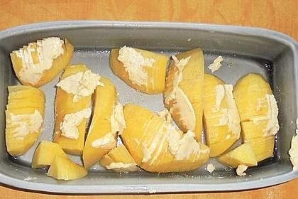 Fächer-Kartoffeln à la Didi