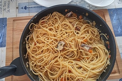Spaghetti nach Art des alten Admirals 1