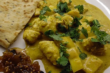 Indisches Chicken Korma mit Mango
