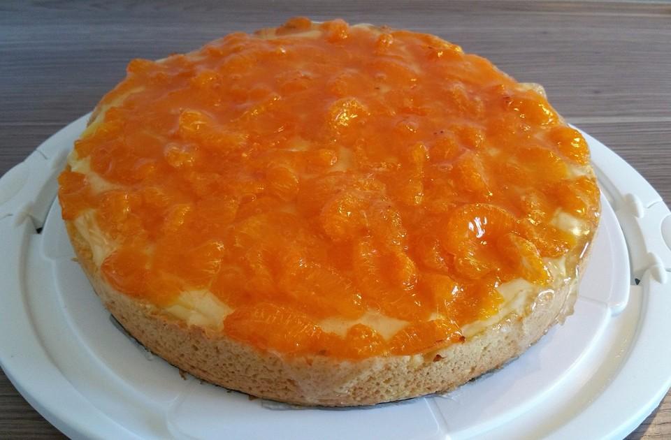 Mandarinen Schmand Kuchen Von Cherrylein Chefkoch De
