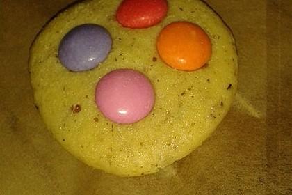 XXL-Cookies mit Smarties