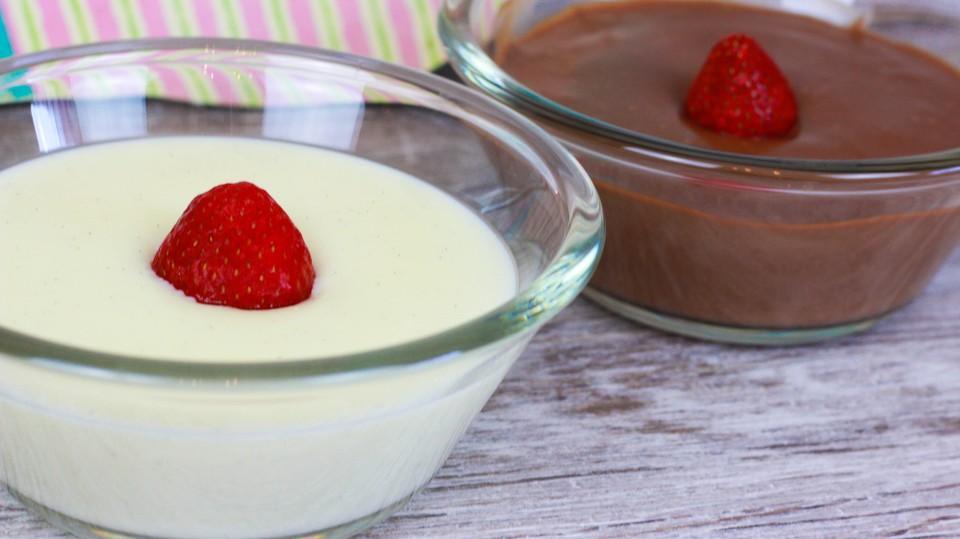 Vanillepudding selber machen ohne ei