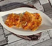 Knusprige Käsechips aus der Mikrowelle (Bild)