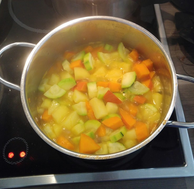 Kürbis Zucchini Kartoffel Babybrei Von Iceprincess2 Chefkoch