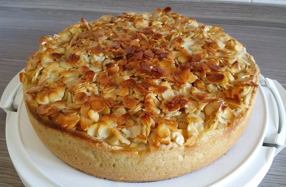 Apfel Bienenstich Kuchen Von Cherrylein Chefkoch De