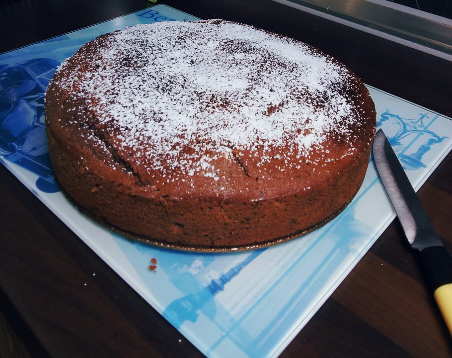 Apfelmus Schoko Bananen Kuchen Von Nirisch Chefkoch De