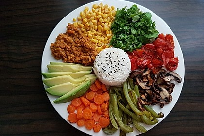 Vegane Curry-Linsen-Bowl 4