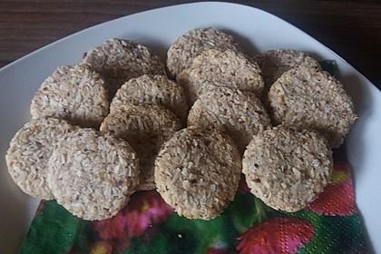 Kokos-Bananen-Kekse ohne Zucker 2