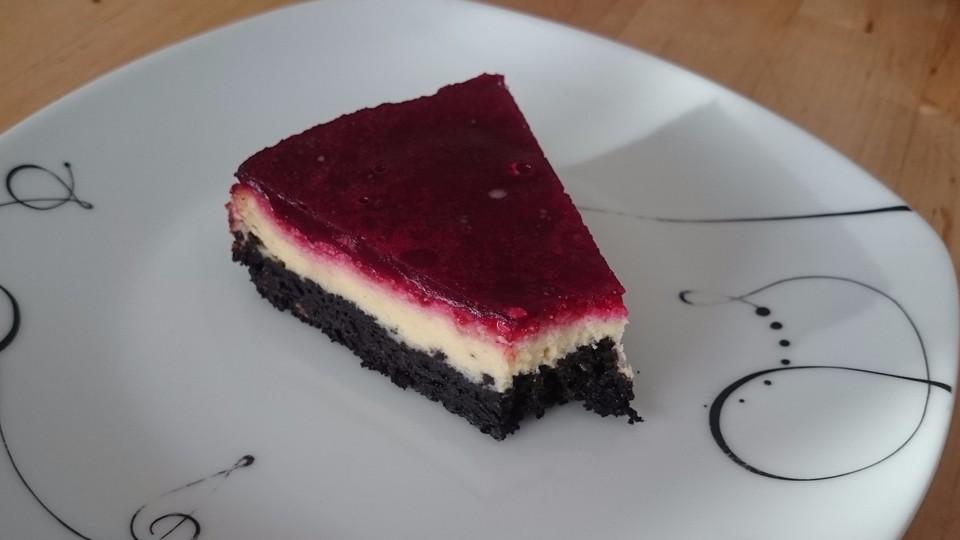 Oreo Cheesecake Mit Himbeeren Von Monsti Handmade Chefkoch De