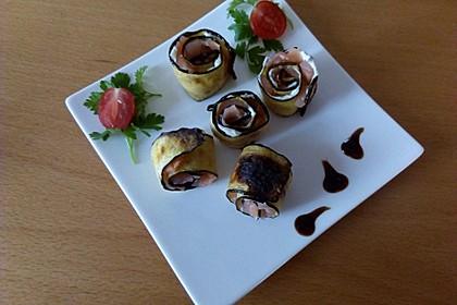 Mini Zucchini-Rouladen mit Räucherlachs 1