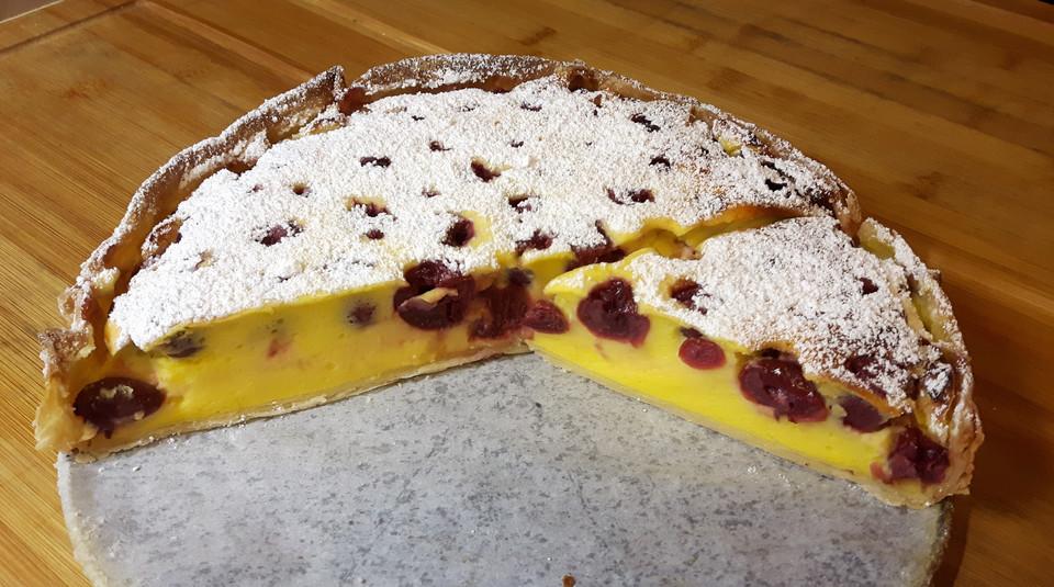 Sauerkirschen Quark Pudding Kuchen Von Glutenfrei Esser Chefkoch De