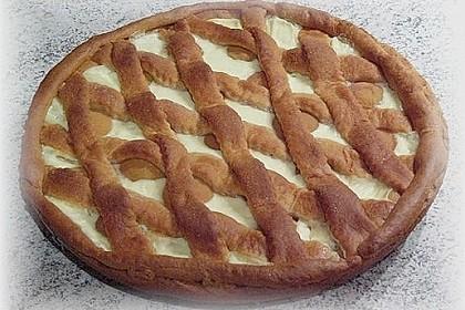 Aprikosen - Gitterkuchen