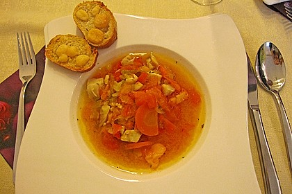 Fischsuppe Sèteois 10