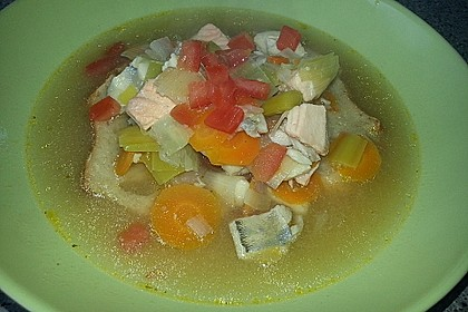 Fischsuppe Sèteois 8