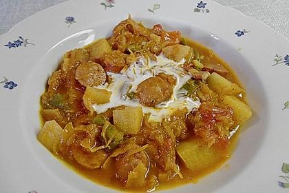 Sauerkraut - Paprika Suppe 12