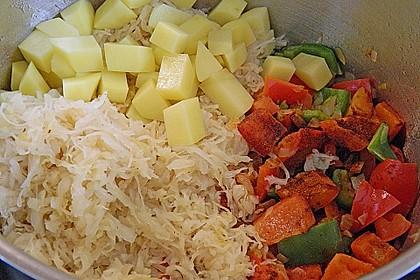 Sauerkraut - Paprika Suppe 15