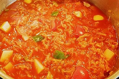 Sauerkraut - Paprika Suppe 14
