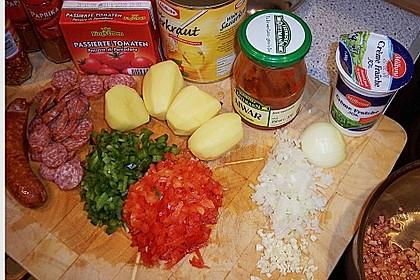 Sauerkraut - Paprika Suppe 7