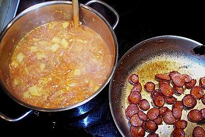 Sauerkraut - Paprika Suppe 19